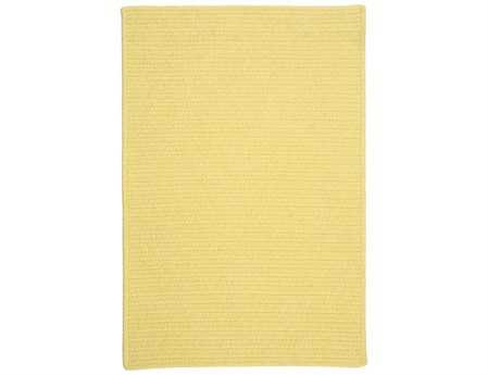 Colonial Mills Courtyard Rectangular Yellow Area Rug