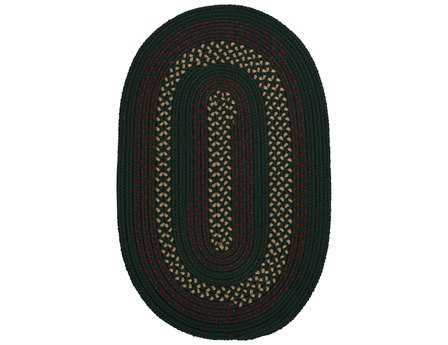 Colonial Mills Deerfield Hunter Green Area Rug