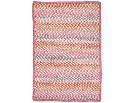 Colonial Mills Color Frenzy Rectangular Twinkle Pink Area Rug