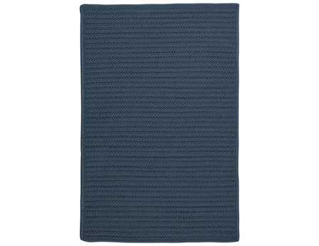 Colonial Mills Simply Home Solid Rectangular Lake Blue Area Rug PatioLiving