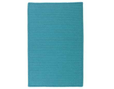 Colonial Mills Simply Home Solid Rectangular Turquoise Area Rug