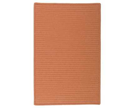 Colonial Mills Simply Home Solid Rectangular Rust Area Rug