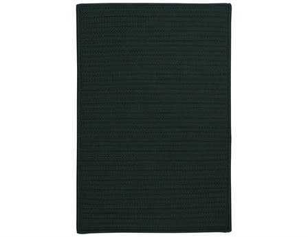 Colonial Mills Simply Home Solid Rectangular Dark Green Area Rug