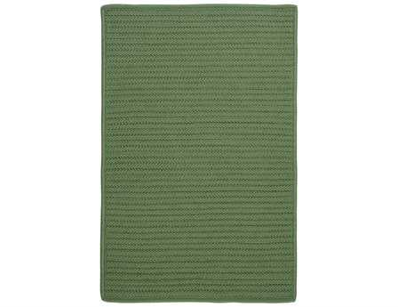 Colonial Mills Simply Home Solid Rectangular Moss Green Area Rug