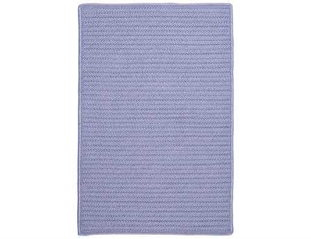 Colonial Mills Simply Home Solid Rectangular Amethyst Area Rug