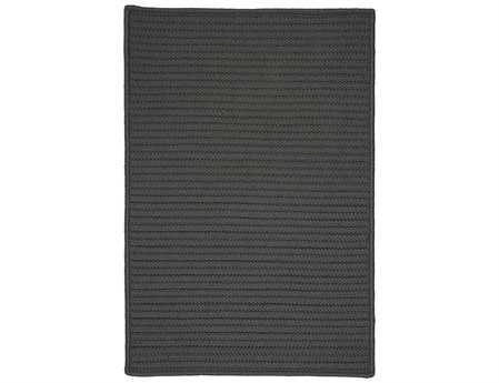 Colonial Mills Simply Home Solid Rectangular Gray Area Rug