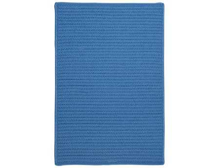 Colonial Mills Simply Home Solid Rectangular Blue Ice Area Rug