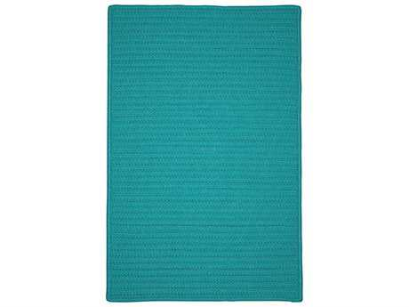 Colonial Mills Simply Home Solid Teal Rectangular / Square Area Rug