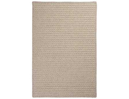 Colonial Mills Natural Wool Houndstooth Rectangular Cream Area Rug
