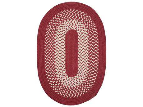 Colonial Mills Jackson Red Oval / Round Area Rug