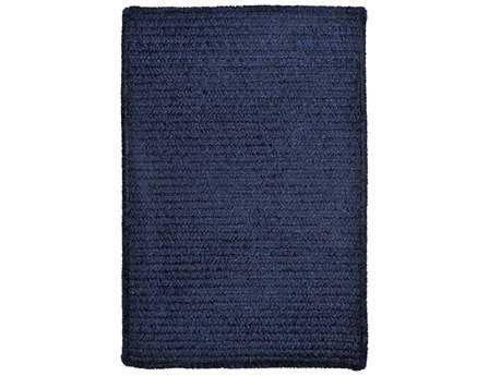 Colonial Mills Simple Chenille Rectangular Navy Area Rug