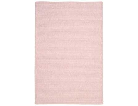 Colonial Mills Simple Chenille Rectangular Blush Pink Area Rug