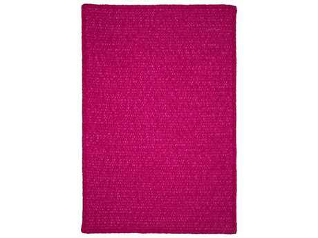Colonial Mills Simple Chenille Magenta Rectangular / Square Area Rug