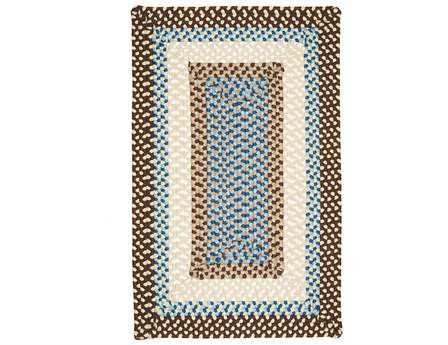 Colonial Mills Montego Rectangular Bright Brown Area Rug
