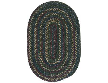 Colonial Mills Midnight Deep Forest Area Rug