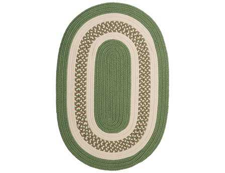 Colonial Mills Crescent Moss Green Area Rug