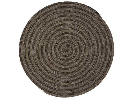 Colonial Mills Woodland Round Brown Round Area Rug