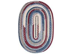 Colonial Mills Olivera Antique Red Oval / Round Area Rug