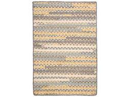 Colonial Mills Print Party Shaded Yellow Area Rug