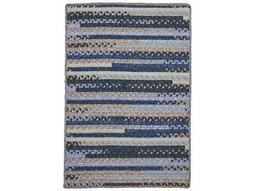 Colonial Mills Print Party Denim Wash Area Rug