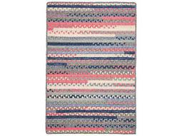 Colonial Mills Print Party Crushed Coral Area Rug