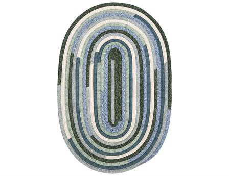 Colonial Mills Quilter's Choice Oval Seafoam Area Rug