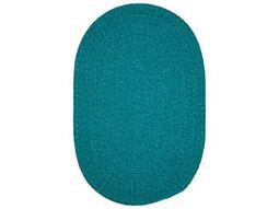 Colonial Mills Spring Meadow Teal Oval / Round Area Rug