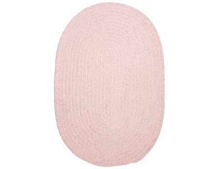 Colonial Mills Spring Meadow Oval Blush Pink Area Rug