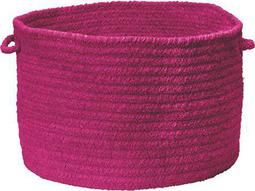 Colonial Mills Spring Meadow Magenta Round Basket