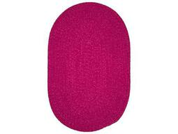Colonial Mills Spring Meadow Magenta Oval / Round Area Rug