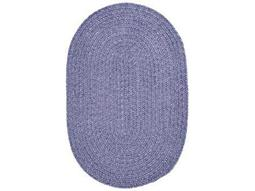 Colonial Mills Spring Meadow Oval Amethyst Area Rug