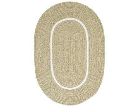 Colonial Mills Silhouette Oval Celery Area Rug