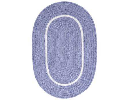 Colonial Mills Silhouette Oval Amethyst Area Rug
