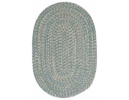 Colonial Mills Tremont Oval Teal Area Rug