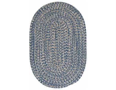Colonial Mills Tremont Oval Denim Area Rug CITE59RGROU