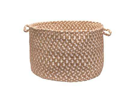 Colonial Mills Confetti Natural Utility Basket