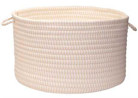 Colonial Mills Ticking Stripe Canvas Utility Basket
