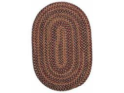 Colonial Mills Twilight Oval Rosewood Area Rug