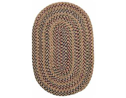 Colonial Mills Twilight Oval Oatmeal Area Rug