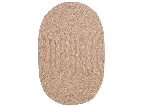 Colonial Mills Bristol Oatmeal Oval Area Rug
