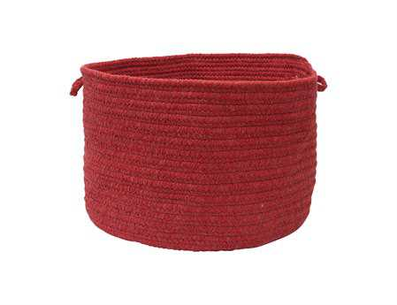Colonial Mills Bristol Red Utility Basket