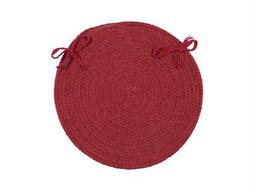 Colonial Mills Bristol Red Chair Pad (Set of 4)