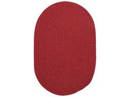 Colonial Mills Bristol Red Area Rug