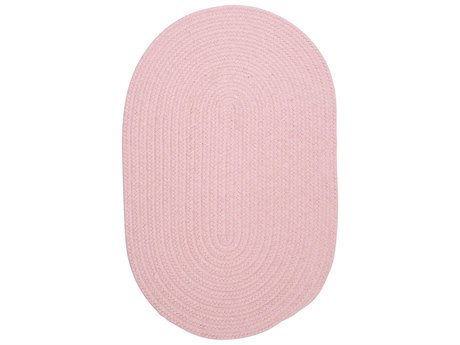 Colonial Mills Bristol Blush Pink Oval Area Rug