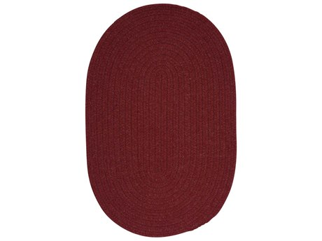 Colonial Mills Bristol Holly Berry Oval Area Rug