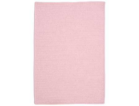 Colonial Mills Westminster Rectangular Blush Pink Area Rug