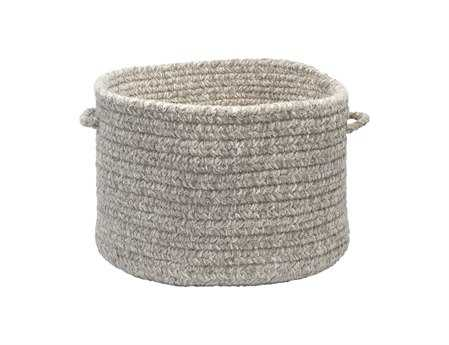Colonial Mills Texture-Woven Soft Stone Utility Basket
