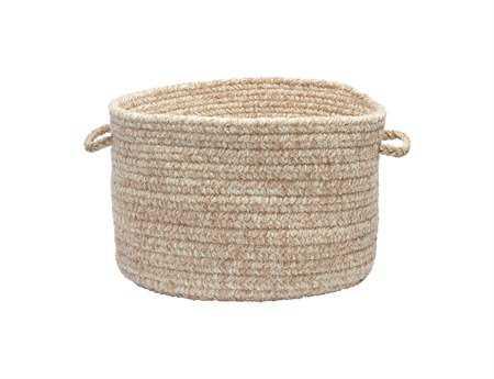 Colonial Mills Texture-Woven Buff Blend Utility Basket
