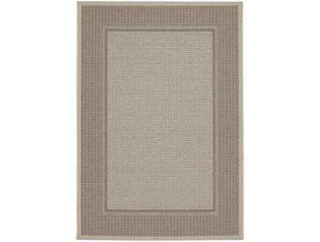 Couristan Tides Astoria Rectangular Cocoa & Beige Area Rug