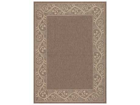 Couristan Five Seasons Tuscana Rectangular Brown & Cream Area Rug